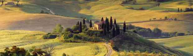 Valle D'Orcia in Toscana per un Capodanno con Italia in Campagna